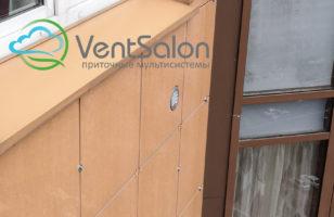 Монтаж Тион 3с на вентилируемый фасад